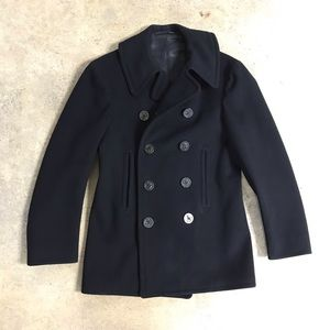 Vintage Naval Clothing Factory Military Issue Coat